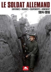 Couverture le soldta allemand 1914-1916